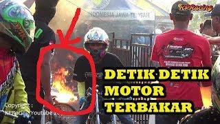 Download Video DETIK DETIK MOTOR TEBAKAR di WAITING ZONE - Fu Porting Putra mahesa MP3 3GP MP4