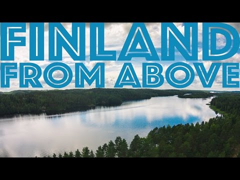 Finland from above: lake Saimaa /// DJI Phantom Drone (#TSJproduction)