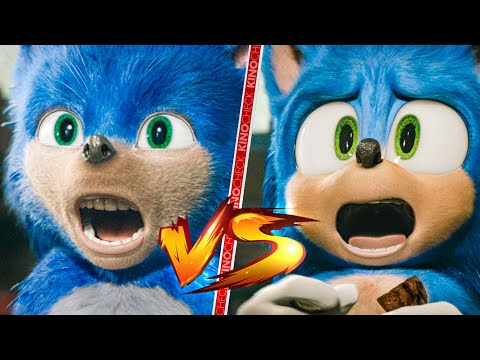 Sonic The Hedgehog Old Vs New Comparison Youtube