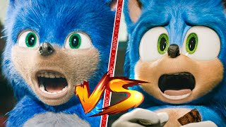 Sonic: The Hedgehog Old vs New Comparison