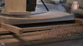 Woodworking DIY Woodworking Tools | Use router curved seat | woodworking # 034