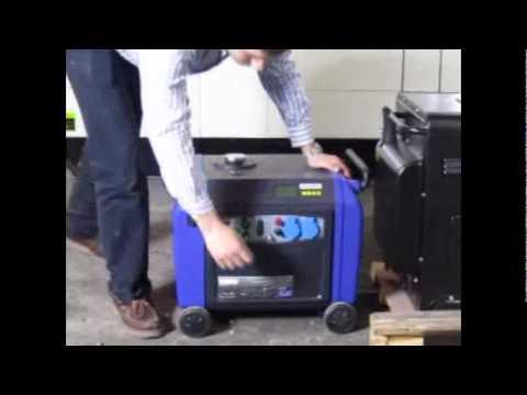 Generador Electrico Inverter Ciclon 4kw. Prueba De Carga