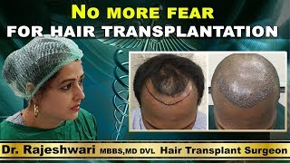 Hair Transplantation without Fear @ 100% Result - Dubai Patient Review | Dr Rajeshwari's Health Care