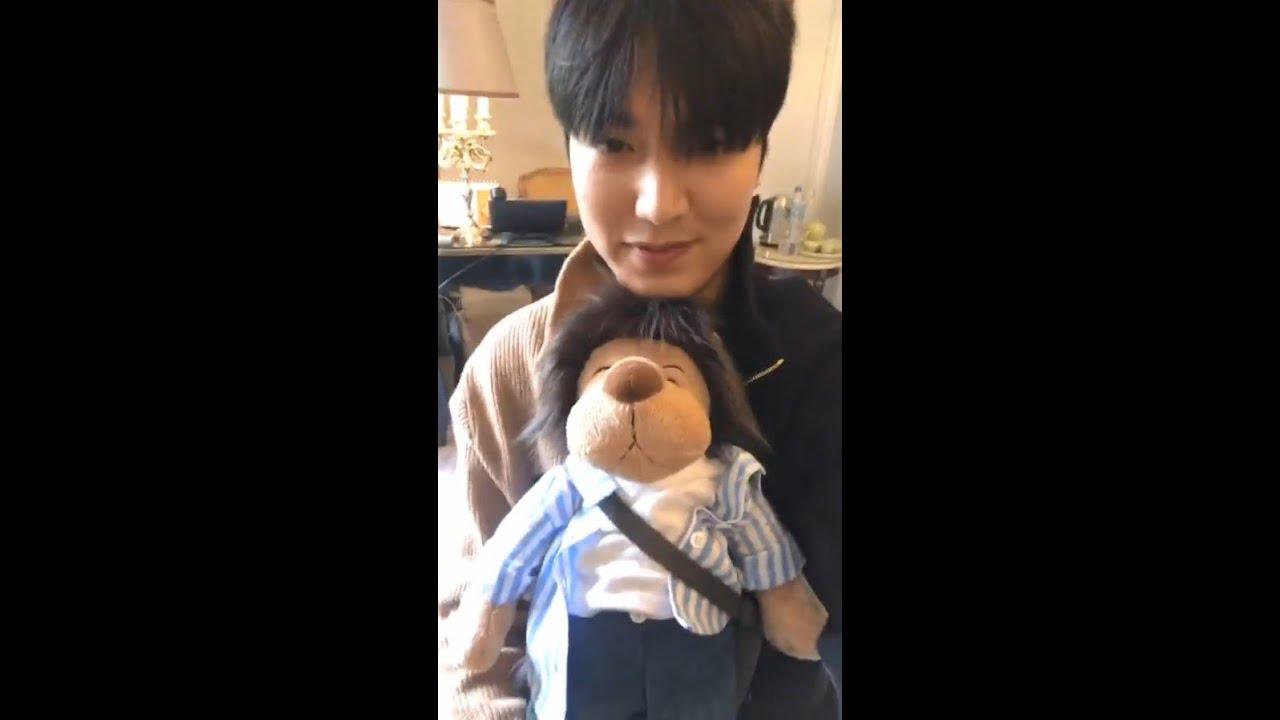 190620 Lee Min Ho 이민호 Instagram Live Youtube