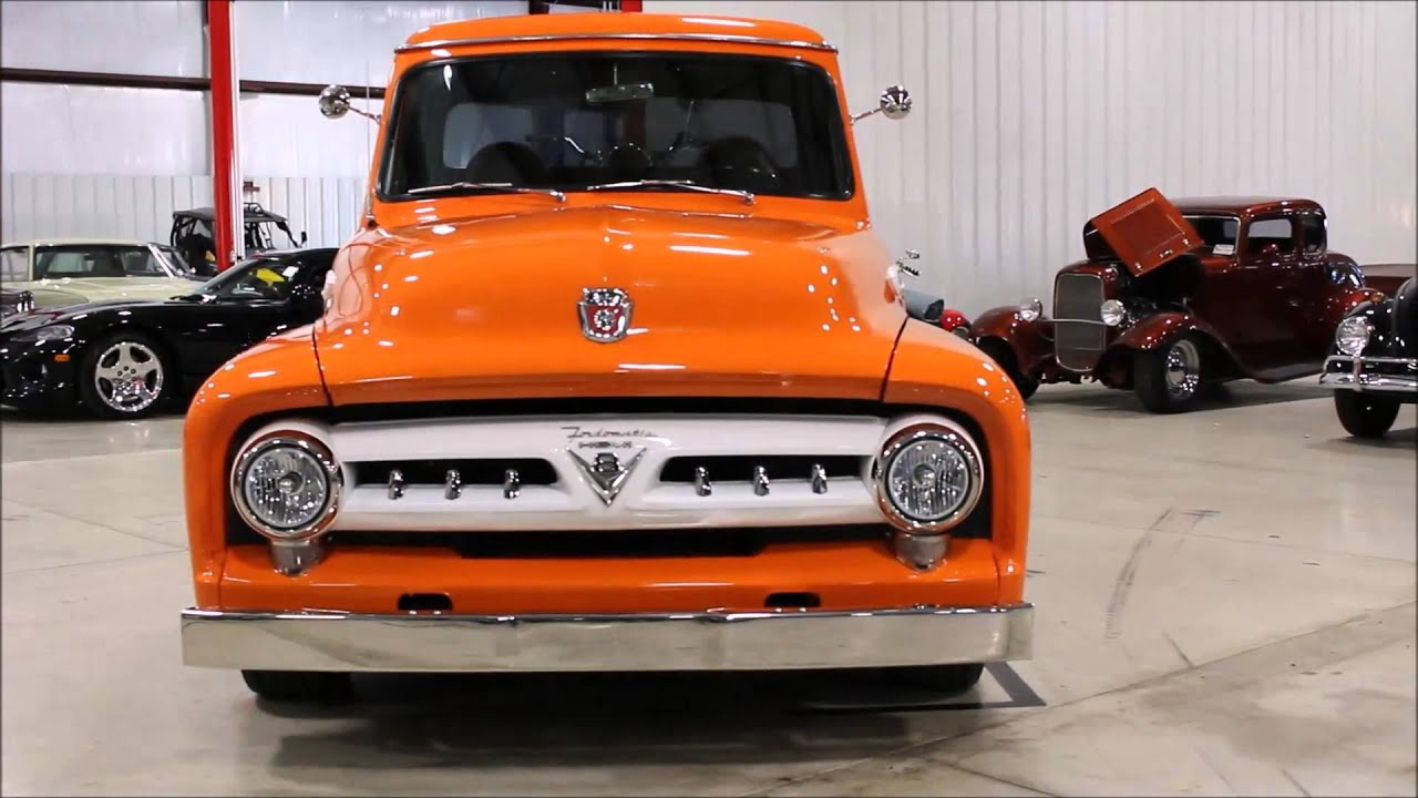 1953 Ford F100 Orange Youtube