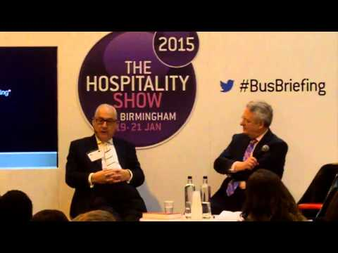 Sales & Marketing with Derek Taylor & Peter Ducker (Hospitality Show 2015)