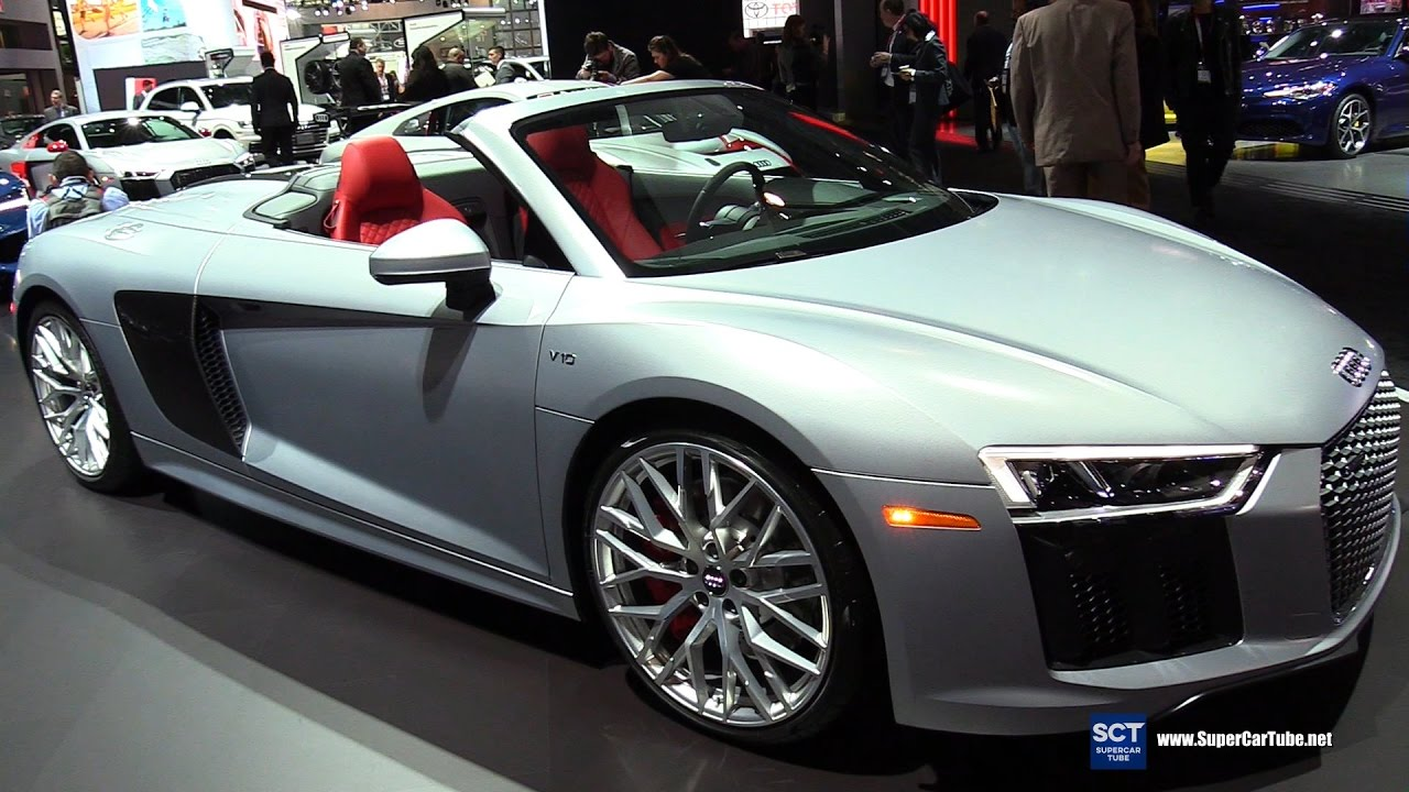 2018 Audi R8 V10 Exterior And Interior Walkaround 2017 New York