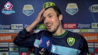Reactie matchwinner Mike Havenaar na de winst op NEC