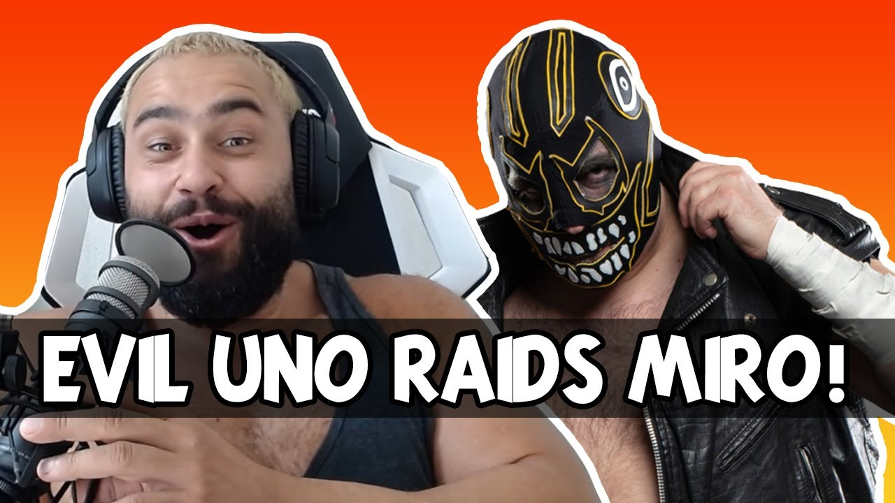 Miro gets raided by Evil Uno on Twitch!