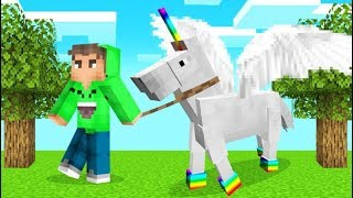 We Made UNICORNS Our PETS In MINECRAFT! (Funny)