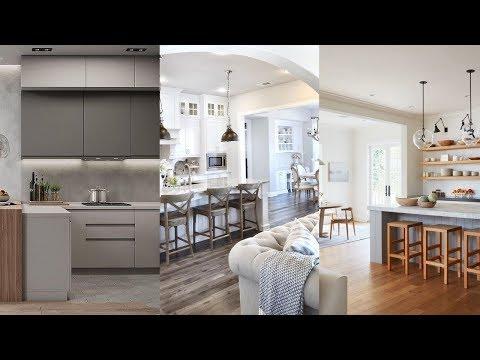 63+ Modern Farmhouse Kitchen Design Ideas