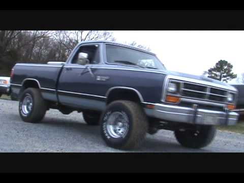 1987 Dodge Power Ram W150 - YouTube