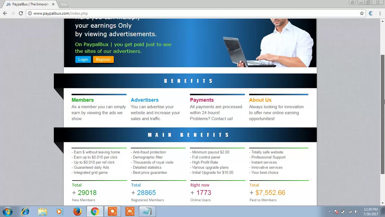 How TO Earn From Paypal bux very easy work Income 100% Bangla Tutorial by  Gsm Star Boy