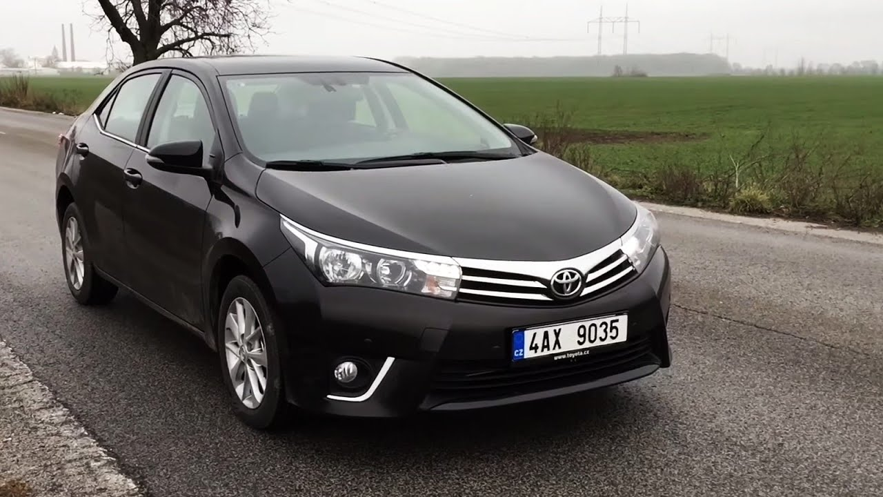 test toyota corolla 1 6 valvematic youtube. Black Bedroom Furniture Sets. Home Design Ideas