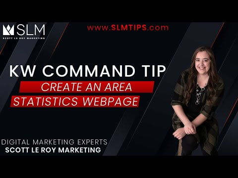 Command Tip - Create an Area Statistics Webpage