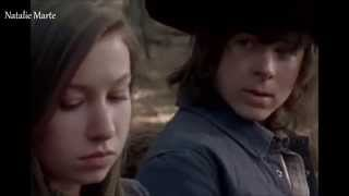 The Walking Dead Carl And Enid
