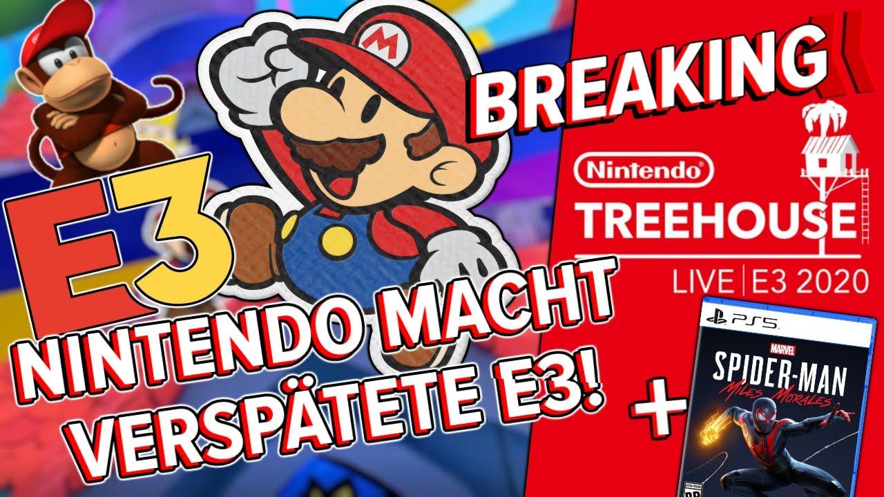 Nintendo macht es doch - Das Treehouse kommt! / PS5 Cover Revealed - BREAKING