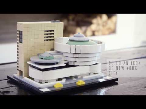 LEGO Architecture Solomon R. Guggenheim Museum (21035) - Official Teaser Video