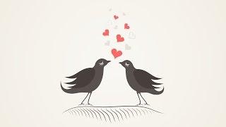 #6 Дизайн стрим. Векторная иллюстрация. CorelDraw. Иллюстрации ко дню святого валентина