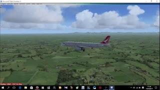 [FSX]Aerosoft A320 - 青島流亭國際機場→鄭州新鄭國際機場(ZSQD TO ZHCC)
