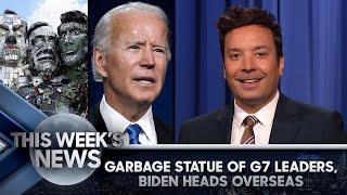 Мусорная статуя лидеров G7, первая зарубежная поездка Байдена в качестве POTUS: Новости этой недели | Сегодняшнее шоу