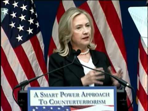 Secretary Clinton Addresses A Smart Power Approach to Counterterrorism