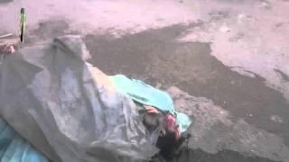 اللحظات الأولى بعد قصف سوق بلدة عين ترما اليوم 16 01 2015 الشهيد شادي برزاوي