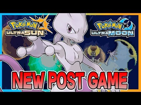 Pokemon Ultra Sun & Ultra Moon NEWS - NEW POST GAME & MEWTWO IN ULTRA SPACE