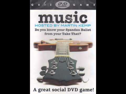 Music DVD Quiz Game (Hosted By Martin Kemp)