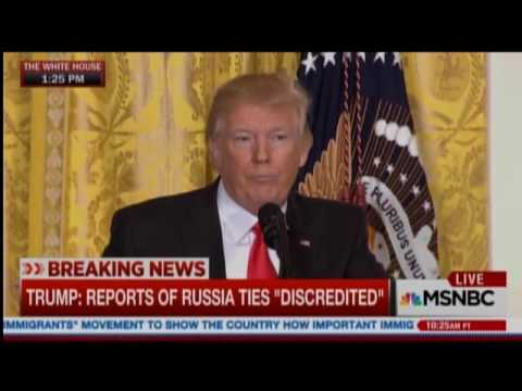 Trump: 'Russia Is Fake News'