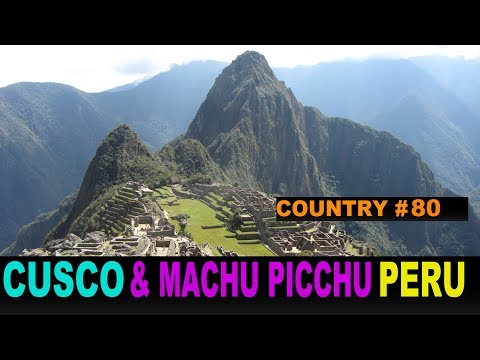 Copy of A Tourist's Guide to Cusco and Machu Picchu, Peru