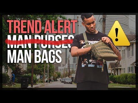 STREETWEAR TREND ALERT: MAN BAGS ??