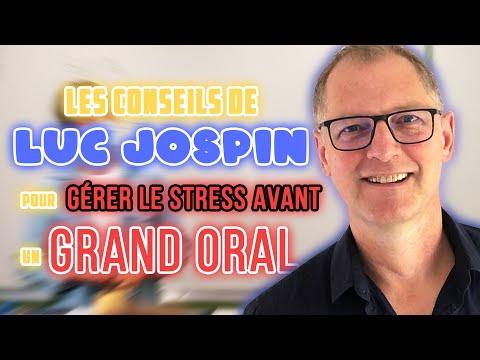Interview Luc JOSPIN: ses conseils pour gérer le stress avant un grand oral