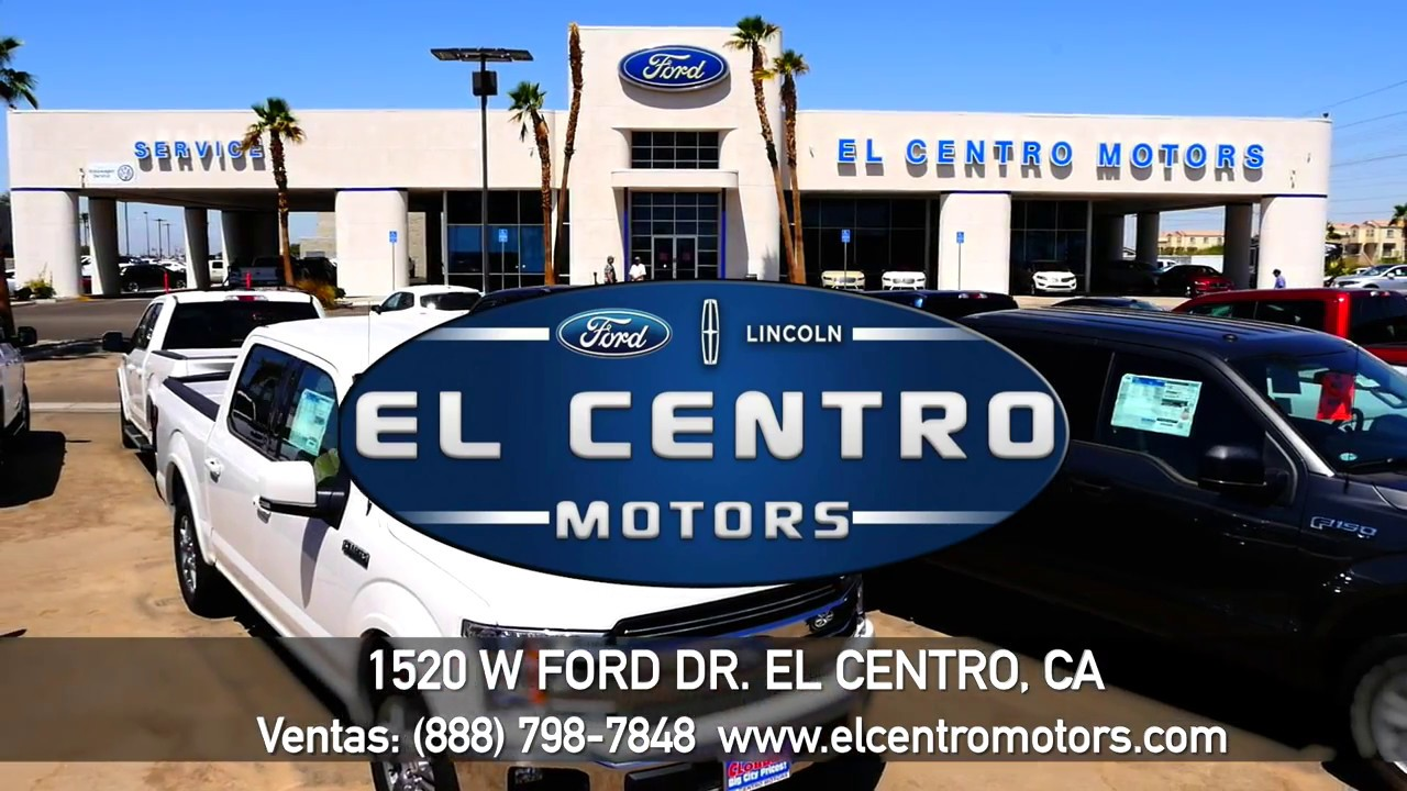El Centro Motors >> Ford El Centro Motors