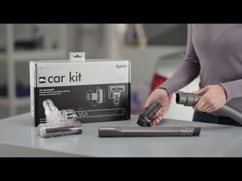 Dyson Car Cleaning Kit Official Video
