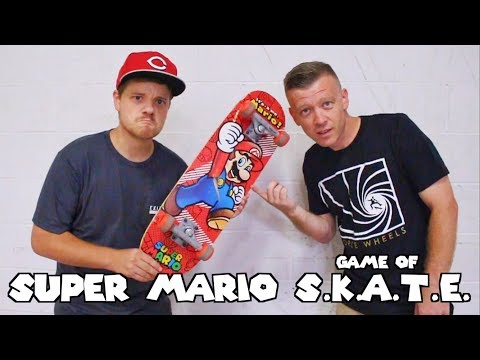 Extremely Difficult Super Mario Skateboard Game of SKATE!