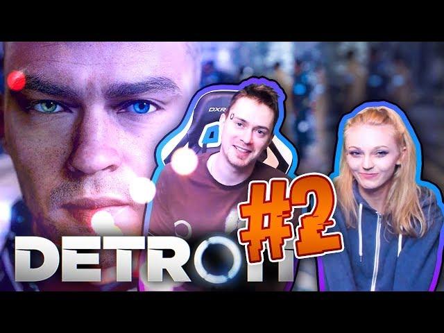 ČESKÉ TITULKY! - Detroit: Become Human CZ s Míšou  #2