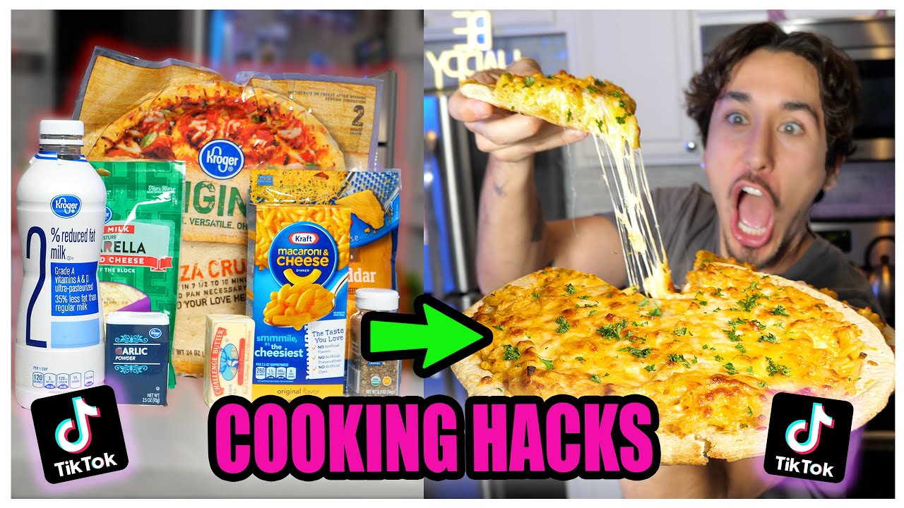 We TASTED Viral TikTok Cooking Life Hacks... (UNBELIEVABLE) *Part 4*