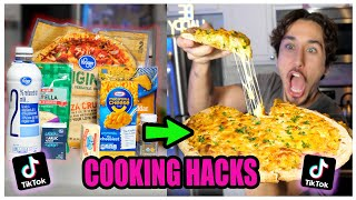 We TASTED Viral TikTok Cooking Life Hacks... (UNBELIEVABLE) *Part 4*