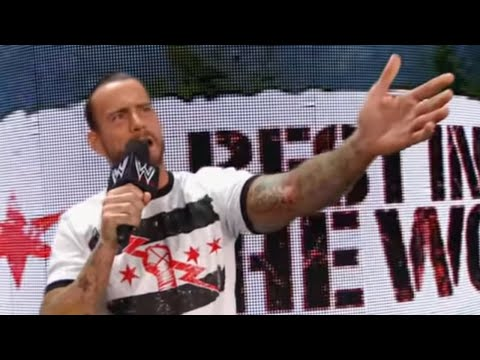 Raw - Raw: CM Punk interrupts Kevin Nash's SummerSlam explanation