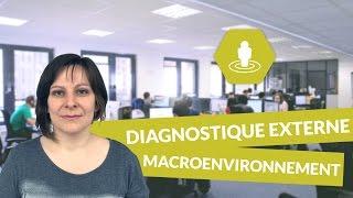 Les composantes du diagnostic externe : macroenvironnement - Management - digiSchool