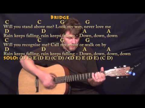 Don't You Forget About Me (Simple Minds) Strum Guitar Cover Lesson with Chords/Lyrics