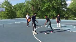 BLAQ & LO VS 7th GRADE PRODIGIES | 2v2 BASKETBALL |