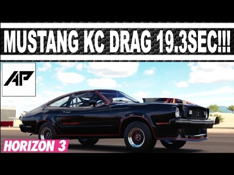 Forza Horizon Ford Mustang King Cobra Drag Tune