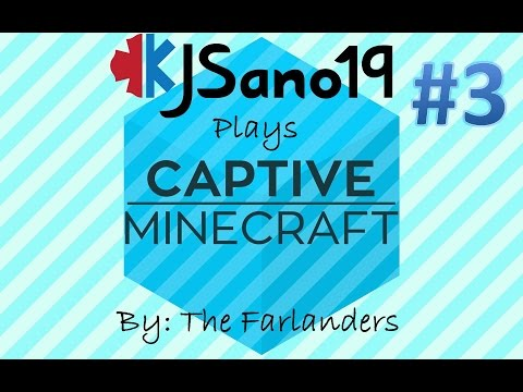 Captive Minecraft - Episode 3 - Preparing for the Nether thumbnail