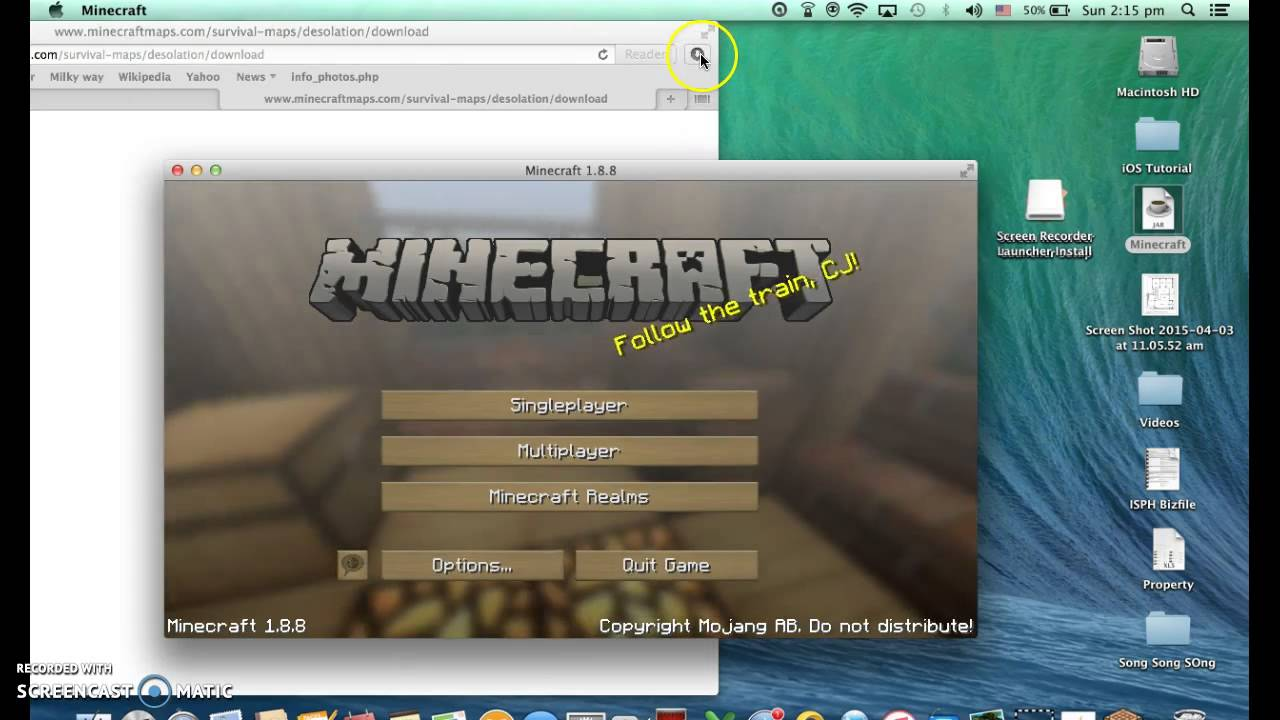 How To Download Mineshafter Maps 2015 Youtube