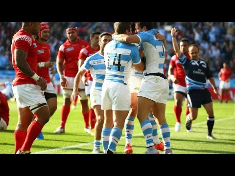 Argentina v Tonga - Match Highlights and Tries - Rugby World Cup 2015