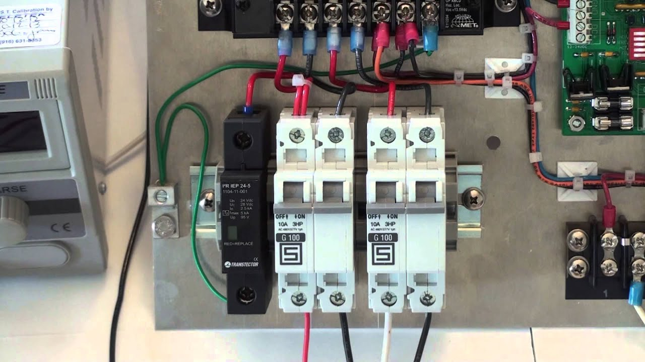 TS1100SP: Circuit Breaker and Surge Protector Device Faults  YouTube