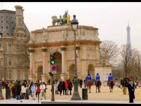 Paris - Le jardin des Tuileries.