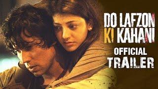 Do Lafzon Ki Kahani  Official Trailer 2  Randeep Hooda Kajal Aggarwal  HD